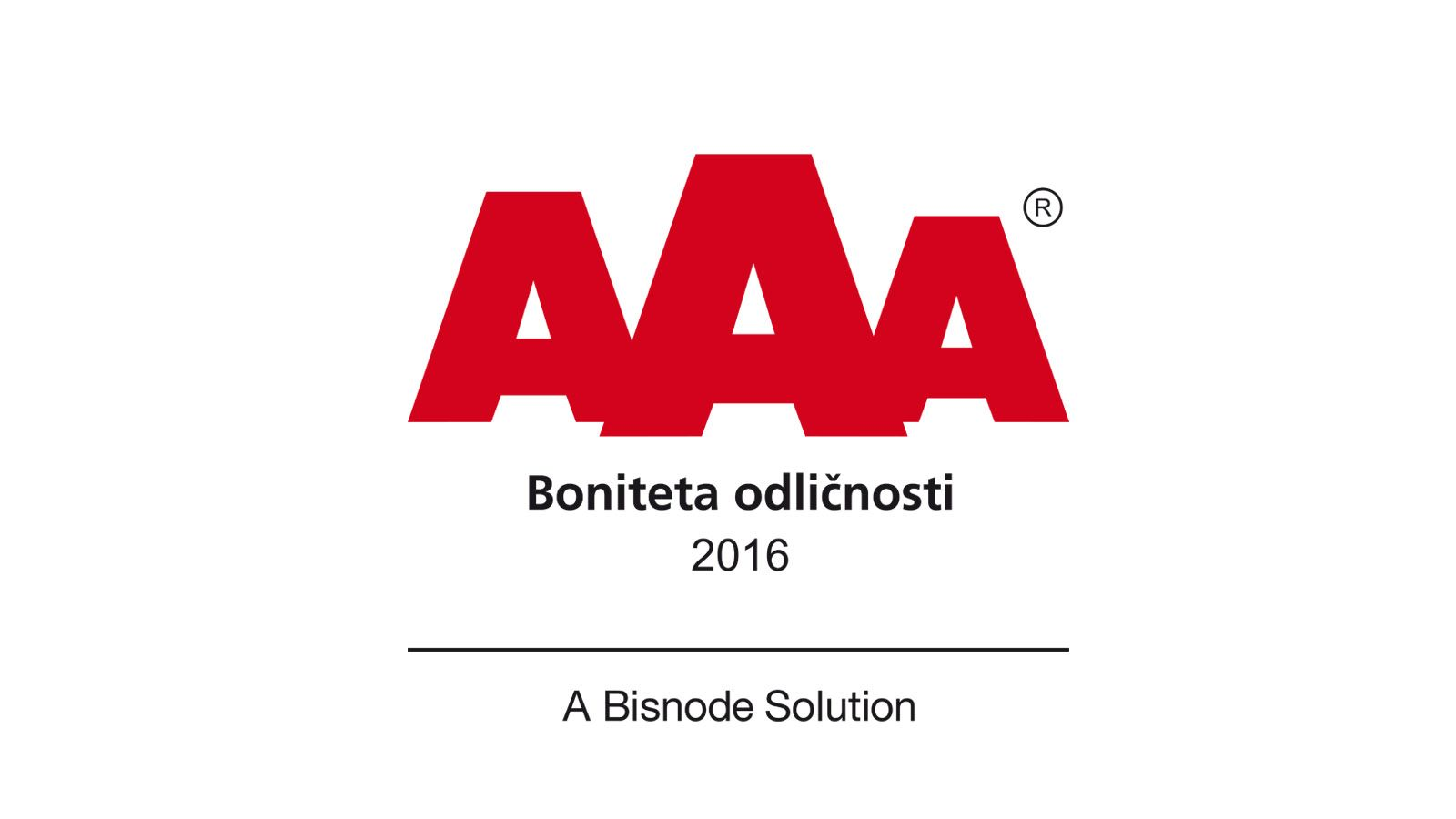 Excellent Business Partner AAA Certificate